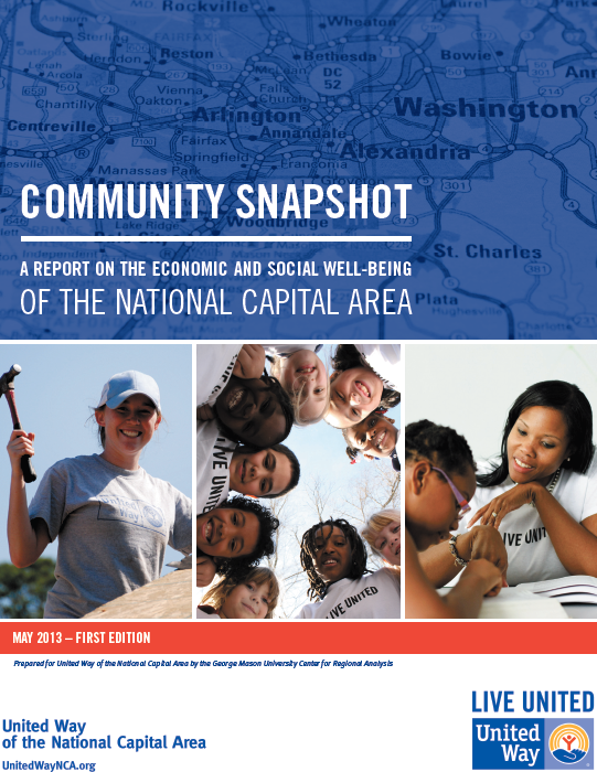 Community Snapshot of the National Capital Area